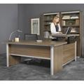 "Metropolitan Adjustable Height L-Desk with Left Return - 72""W, 16383"