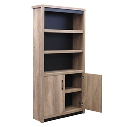 "Urban 72""H Five Shelf Bookcase, 33427"