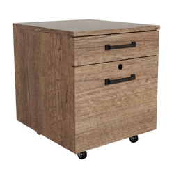 "Urban 18""W Two Drawer Mobile File Pedestal, 34556"
