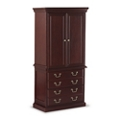 "Cumberland Wardrobe with File Cabinet - 34""W, 36939"
