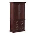 "Cumberland Wardrobe with File Cabinet - 34""W, 36939"