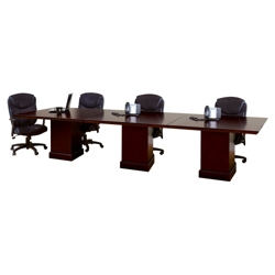 12' Rectangular Modular Conference Table, 40991