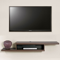 "Wall Mount TV Component Shelf - 60""W, 91308"