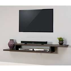 "Wall Mount TV Component Shelf - 72""W, 91307"