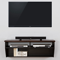 "Wall Mount TV Component Shelf - 48""W, 91632"