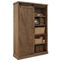 "Bookcase with Sliding Door - 72""H, 42006"