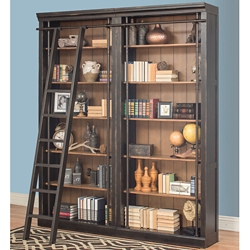 "12 Shelf Bookcase Wall - 94""H, 32837"