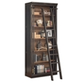 "Toulouse Six Shelf Bookcase with Ladder - 94""H, 32838"