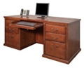 "Double Pedestal Desk - 68""W, 16066"