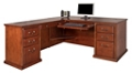 "L-Desk with Left Return - 68.25""W, 16076"