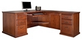 "L-Desk with Left Return - 68.25""W, 16077"