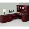 Left L-Desk Hutch and File Set, 14572