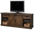 "Media Console with Sliding Doors - 86""W, 86546"