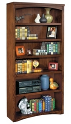 "72""H Mission Open Bookcase, 32735"