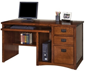 Mission Finish Computer Desk, 15678