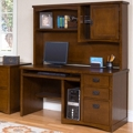 Mission Finish Computer Desk with Hutch, 15686