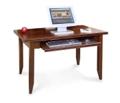 Cherry Table Desk with Keyboard Shelf, 15660