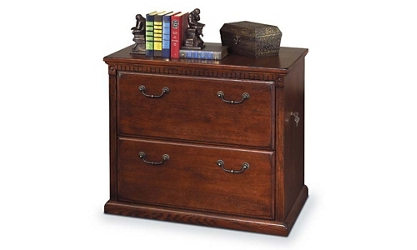 Burnished Oak Two Drawer Lateral File, 30502