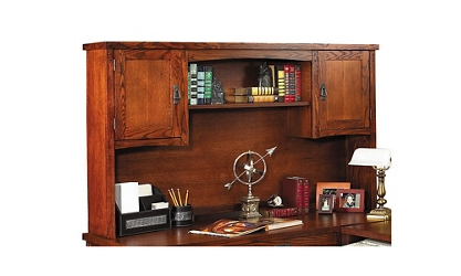 Mission Finish Storage Hutch, 15680