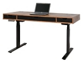 "Two Tone Height Adjustable Desk - 60""W, 10290"