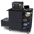 Mobile Four Drawer 3D Printer Cart, 43430