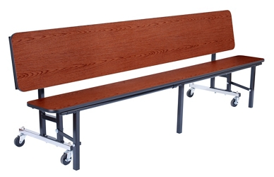 "7' Convertible Bench Table - 15""W x 84""D, 47105"