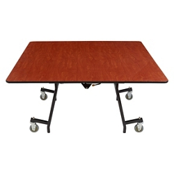 "Square Mobile Cafeteria Table - 60""W x 60""D, 47108"