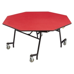 "Octagon Mobile Cafeteria Table - 60""W x 60""D, 47111"