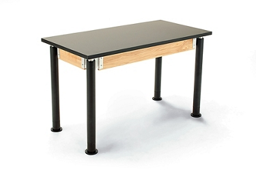 "Adjustable Height Lab Table - 24""W x 48""D, 47083"