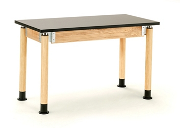 "Adjustable Height Lab Table - 24""W x 60""D x 29-41""H, 47085"