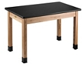 "Science Lab Table - 24""W x 72""D x 30""H, 47074"