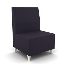 Modern Fabric or Vinyl Armless Chair, 25796