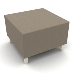 Modern Fabric or Vinyl One Seat Bench, 25797