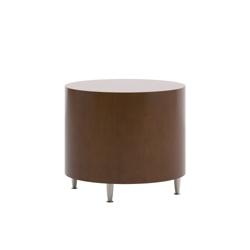 "Modern Round End Table - 24"" Diameter, 53004"