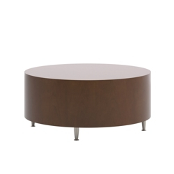 "Modern Round Coffee Table - 36.69"" Diameter, 53007"