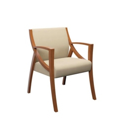 Angled Contemporary Guest Chair , 76232