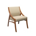 Angled Contemporary Armless Guest Chair , 76233