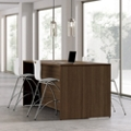 Collaborative Counter Height Table with Stools, 44403