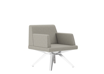 Lounge Chair with Arms, 57491