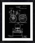 "Car Patent Framed Art - 28""W x 34""H, 92591"