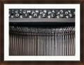 """Vintage Typewriter Letters Framed Art - 36""""W x 28""""H, 92593"""