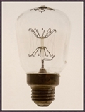 "Oversized Light Bulb 1 Framed Canvas Art Print - 38""W x 50""H, 92596"