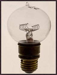 "Oversized Light Bulb 2 Framed Canvas Art Print - 38""W x 50""H, 92597"