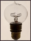 "Oversized Light Bulb 2 Framed Canvas Art Print - 38""W x 50""H, 92597"
