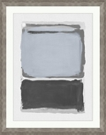 "Gray A Framed Art - 30""W x 38""H, 92601"