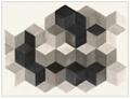 "Perimeter Study Canvas Art Print - 50""W x 38""H, 92606"
