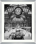 "Train Station Framed Photography - 28""W x 34""H, 92615"