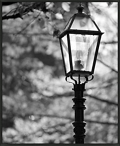 "Street Lamp Framed Canvas Photography Print - 28""W x 34""H, 92616"