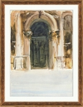 "Venetian Watercolors 1 Framed Art Print - 28""W x 36""H, 92626"