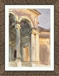 "Venetian Watercolors 4 Framed Art Print - 28""W x 36""H, 92628"